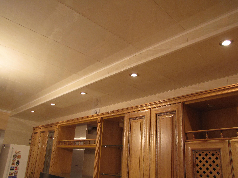 Потолки на кухне из пластиковых панелей своими руками